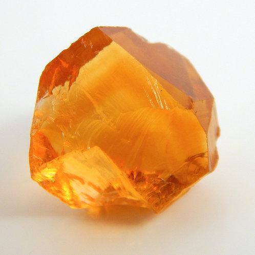 Select Orange Citrine Facet Rough 2.7 Grams (#27p)