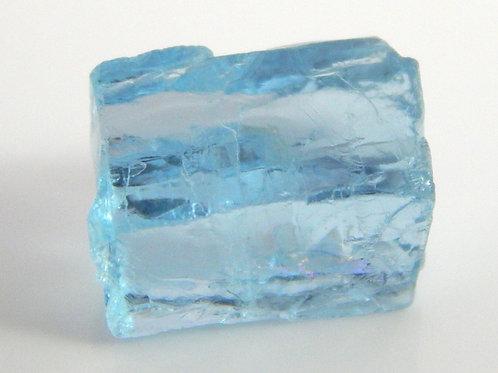 Madagascar Aquamarine Facet Rough 0.9 Grams (#68p)