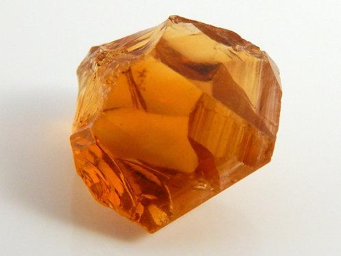 Select Orange Citrine Facet rough 2.2 Grams (#30p)