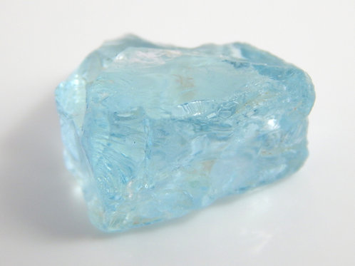 Madagascar Aquamarine Facet Rough 3.5 Grams (#58p)