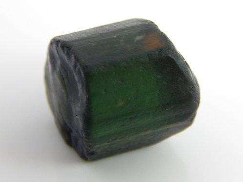 Dark Green Tourmaline facet rough 4.8 Grams (#173p)