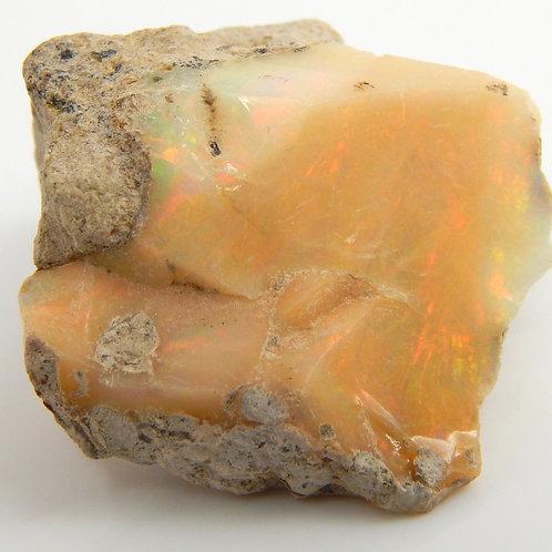 Ethiopian Opal Facet Rough 5.3 Grams (#53p)