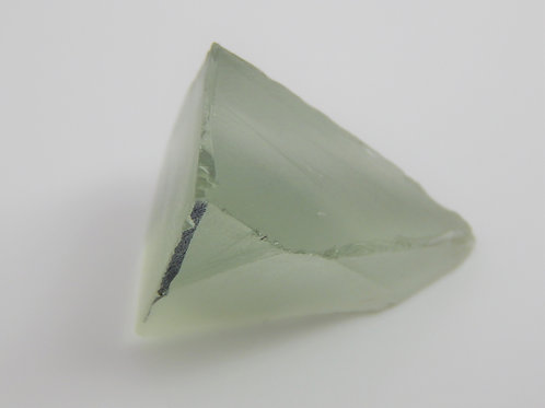 Select Prasiolite Facet Rough 8 Grams (9p)