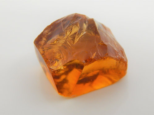 Select Orange Citrine Facet Rough 2.5 Grams (76p)