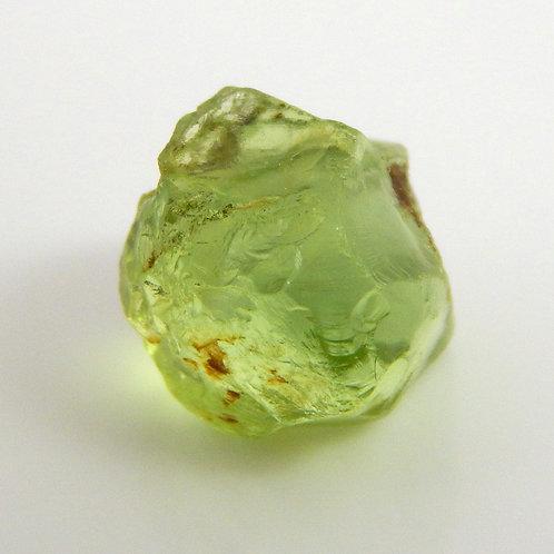 Mint Peridot Facet Rough 0.8 Grams (#43p)