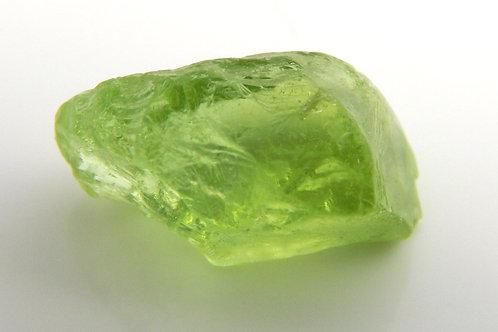 Mint Peridot Facet Rough 1.0 Grams (#66p)