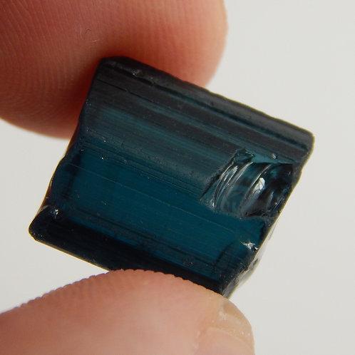 Indicolite Blue Tourmaline Facet Rough 2.3 Grams (#443p)