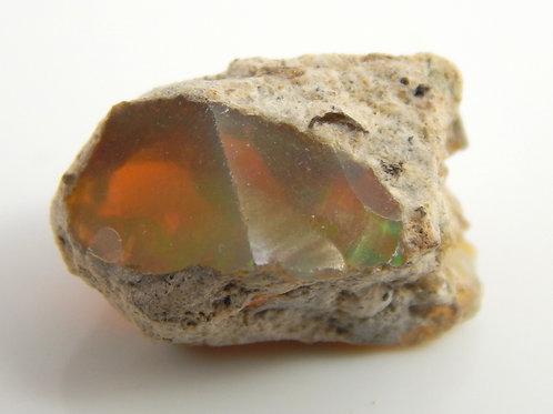 Ethiopian Opal Facet Rough 1.2 Grams (#52p)