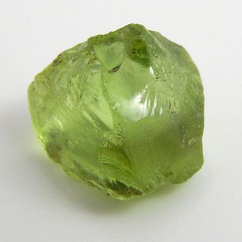 Mint Peridot Facet Rough 0.7 Grams (#93p)