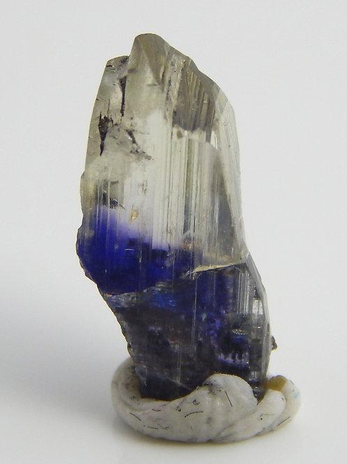 Natural Tanzanite Bi-color Crystal 1.2 Grams (#51)