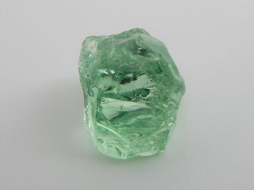 Meralni Mint Garnet Facet Rough 1.1 Grams (#379p)