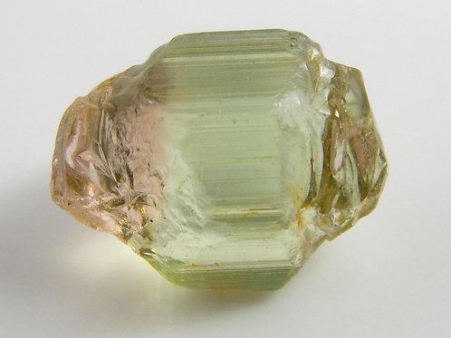 Green Congo Tourmaline Facet Rough 1.5 Grams (#557p)