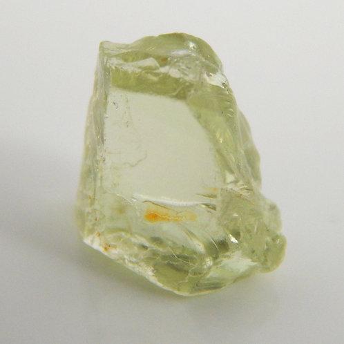 Kiwi Grossular Green Garnet Facet Rough 1.1 Grams (#82p)