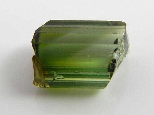 Green Congo Tourmaline Facet Rough 1 Gram (#603p)