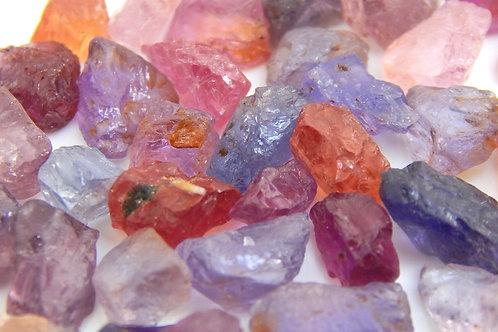Umba Sapphire Facet Rough parcel 10 Grams (#166p)
