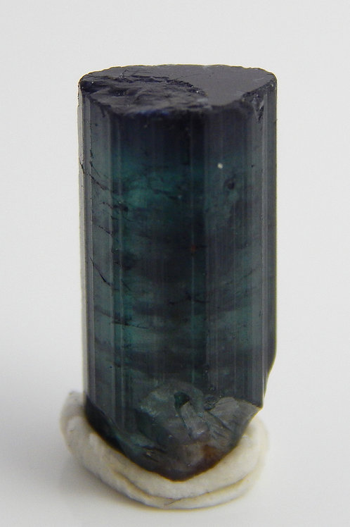 Purple capped Tourmaline Crystal Rough 2.8 Grams (#152)