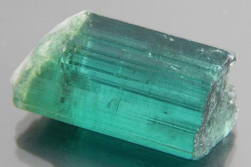Green Tourmaline Crystal/Cabbing Rough 3.0g (#13)