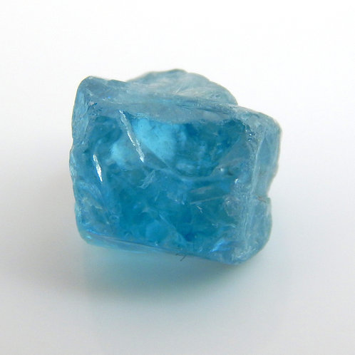 Blue Zircon Facet Rough 1.4 Grams (#30p)