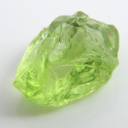 Mint Peridot Facet Rough 0.7Grams (#95p)