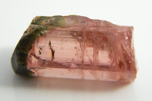 Watermelon Tourmaline Crystal Rough From Nigeria 3.7 Grams (#131)