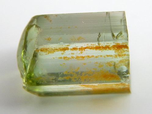 Green Congo Tourmaline Facet Rough 1.8 Grams (#502p)