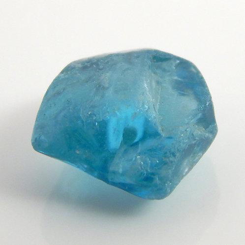 Cambodian Blue Zircon Facet Rough 1.4 Grams (#11p)