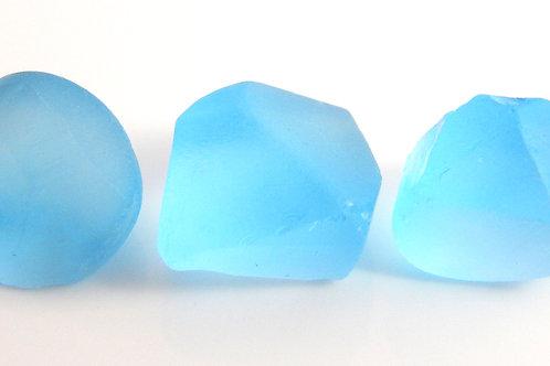 Sky blue Topaz Facet rough parcel 10.3 Grams (#31p)