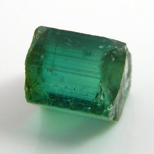 Green Congo Tourmaline Facet 0.8 Grams (#583p)