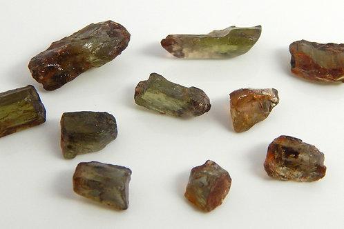Andalusite Facet Rough Parcel 6.3 Grams (#2)