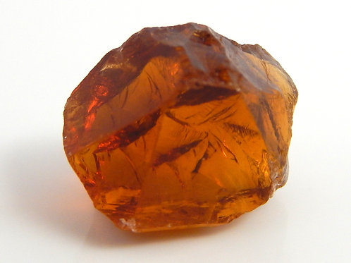 Select Red Citrine Facet Rough 2.5 Grams (#37p)