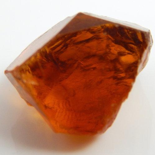 Red Citrine Facet Rough 3.7 Grams (#56p)