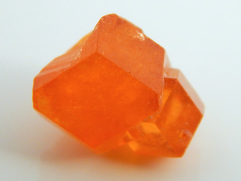 Spessartite Garnet Oyo State Nigeria Twin Crystal Rough 3.1 Grams (#18)