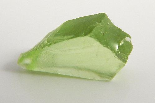 Mint Peridot Facet Rough 0.8 Gram (#38p)