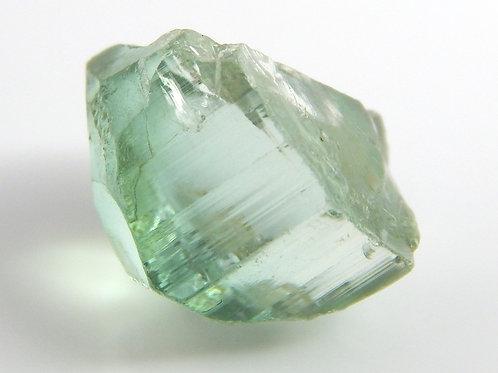 Green Congo Tourmaline Facet Rough 1.7 Grams (#534p)