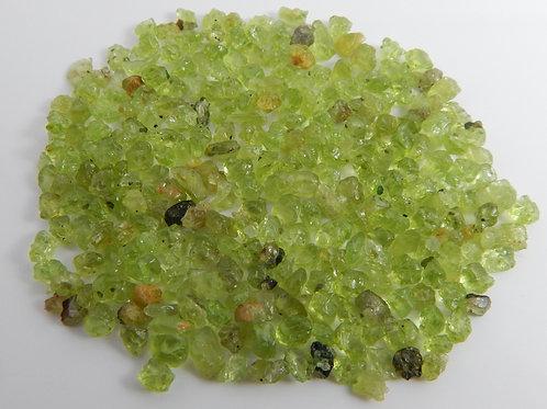 Green Mini-Peridot Parcel 20 Grams (#1)