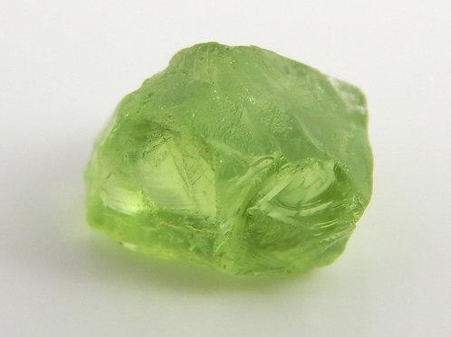 Mint Peridot Facet Rough 0.9 Grams (#44p)