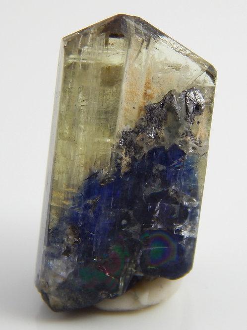 Natural Bi-color Tanzanite Crystal Rough 4.5 Grams (#59)