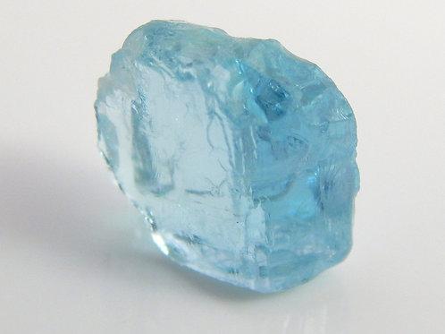 Madagascar Aquamarine Facet Rough 0.9 Grams (#66p)