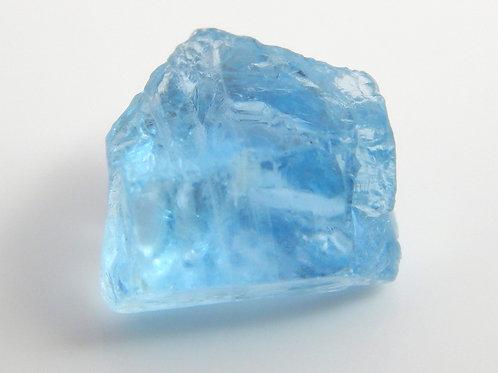 Aquamarine Facet Rough 0.7 Grams (#128p)