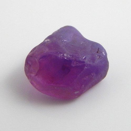 Purple Tunduru Sapphire Facet Rough 0.4 Grams (#323p)