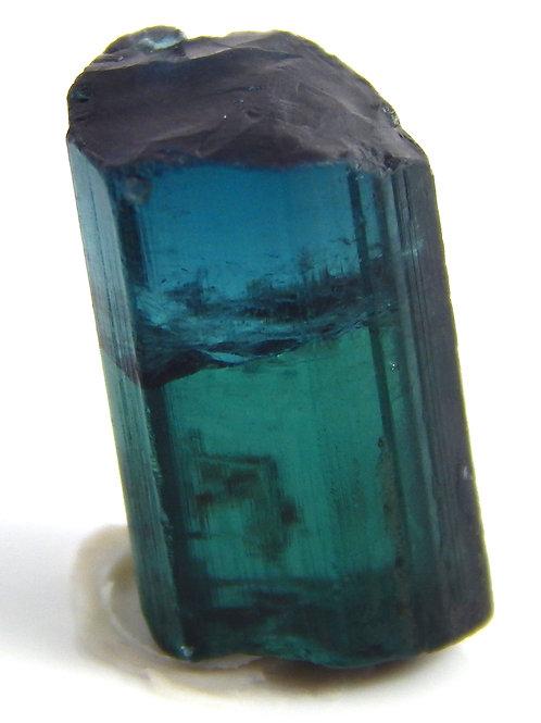 Bi-color Indicolite Blue Tourmaline Facet Rough (#35)