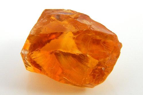 Select Orange Citrine Facet Rough 2.4 Grams (#22p)