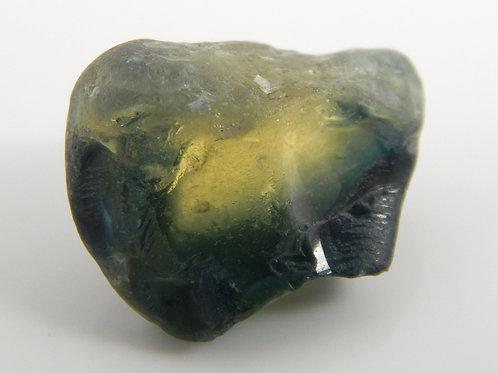 Australian parti Sapphire Facet Rough 3.4 Grams (#84p)