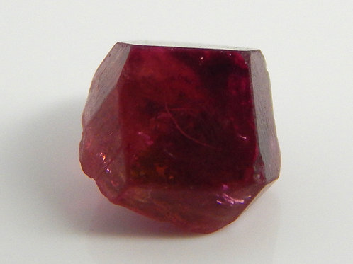 Madagascar Rubellite Tourmaline Crystal Rough 1.0 Grams (#92)