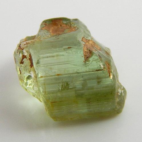 Green Congo Tourmaline Facet Rough 1.2 Grams (#606p)