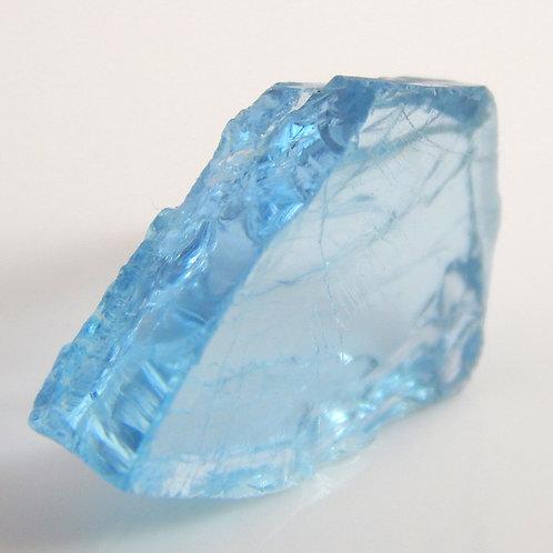 Madagascar Aquamarine Facet Rough 1.4 Grams (#51p)