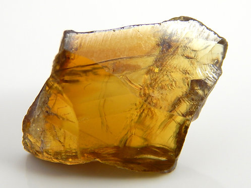 Sphene Facet Rough 2.6 Grams (#6p)