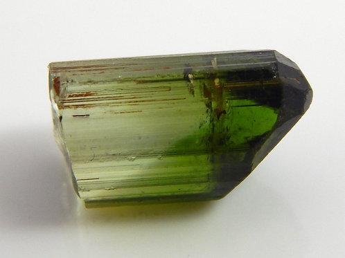Congo Green Tourmaline Facet Rough/crystal  1.1 Grams (#600p)