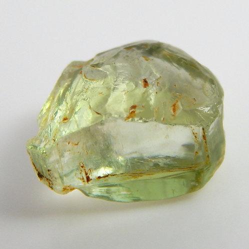 Congo Green Tourmaline Facet Rough 1.1 Grams (#504p)