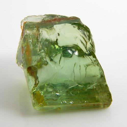Green Congo Tourmaline Facet Rough 1.9 Grams (#609p)